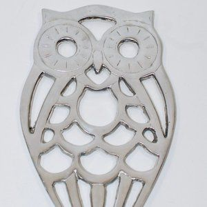 Other - Vintage Owl Trivet Cast Aluminum from Mexico